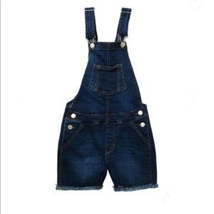 Joe's Jeans Selma Cutoff Denim Overalls